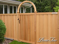 Wood-Privacy-Fence-Glenhill-with-Arch