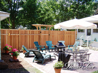 Wood-Privacy-Fence-Glenhill-with-Highland-Arbor