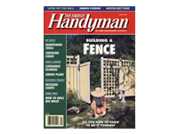 Handyman Building A Fence Article