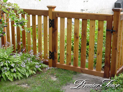 wood picket fence gate. Wood Picket Fence Gate E