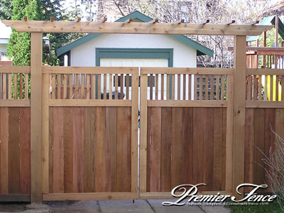 how to build a double swing wooden gate