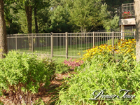aluminum fence maintenance free