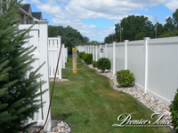 Vinyl Privacy for Townhomes