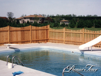 Wood-Picket-Fence-Victoria-Scalloped-with-Privacy-Fence-Solid-Scalloped-Pool