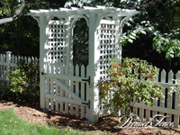 Wood-Picket-Fence-Traditional-with-Highland-Deluxe-Arbor