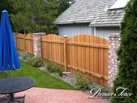 Wood-Privacy-Fence-Battenboard-Arch-Pillars