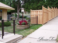 Wood-Privacy-Fence-Glenhill-Aluminum-Combo-Contour